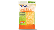 Fit and Active 2% Milk Mexican Blend Shredded Cheese