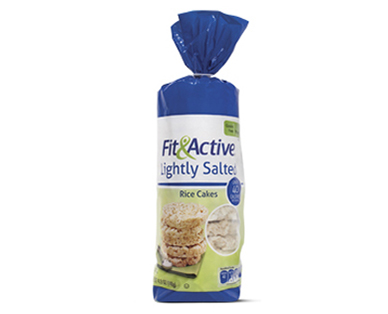 ALDI US - Fit & Active? Lightly Salted Rice Cakes