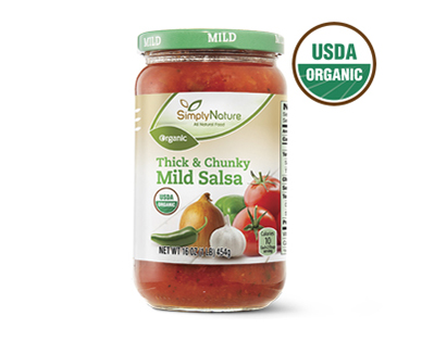 Simply Nature Organic Thick and Chunky Mild Salsa