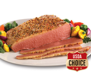 Cattlemen's Ranch USDA Choice Flat Cut Corned Beef Brisket