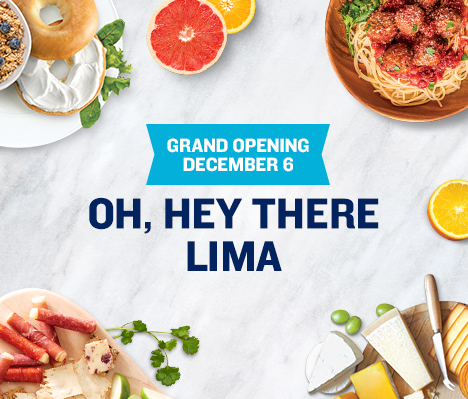 Grand Opening December 6. Oh, hey there Lima.