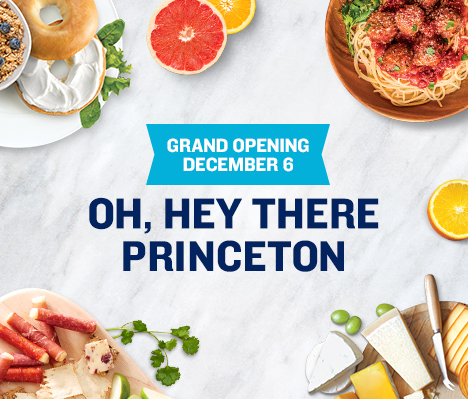 Grand Opening December 6. Oh, hey there Princeton.
