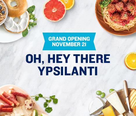 Grand Opening November 21. Oh, hey there Ypsilanti.