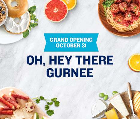 Grand Opening October 31. Oh, hey there Gurnee.