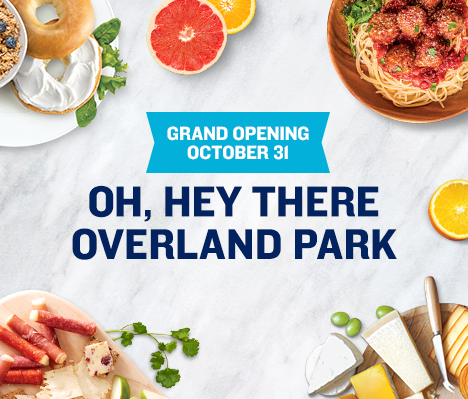 Grand Opening October 31. Oh, hey there Overland Park.