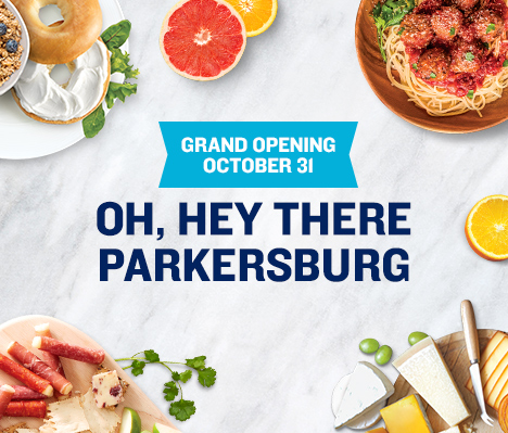 Grand Opening October 31. Oh, hey there Parkersburg.