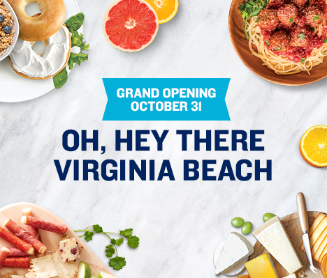 Grand Opening October 31. Oh, hey there Virginia Beach.