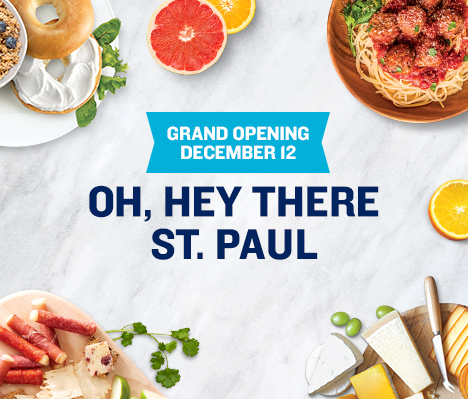Grand Opening December 12. Oh, hey there St. Paul.