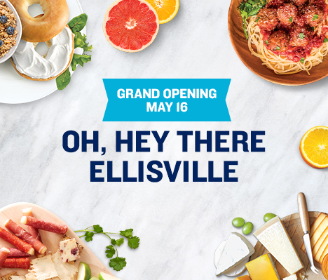 Grand Opening May 16. Oh, hey there Ellisville.