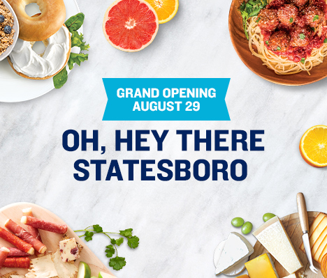 Grand Opening August 29. Oh, hey there Statesboro.