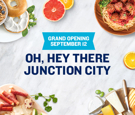 Grand Opening September 12. Oh, hey there Junction City.
