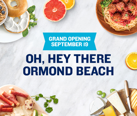 Grand Opening September 19. Oh, hey there Ormond Beach.