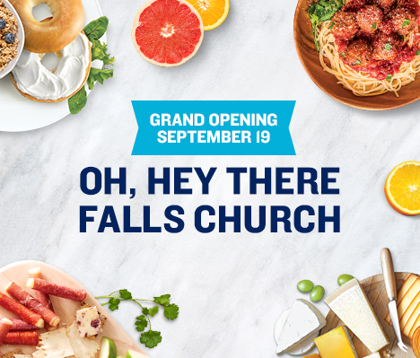 Grand Opening September 19. Oh, hey there Falls Church.