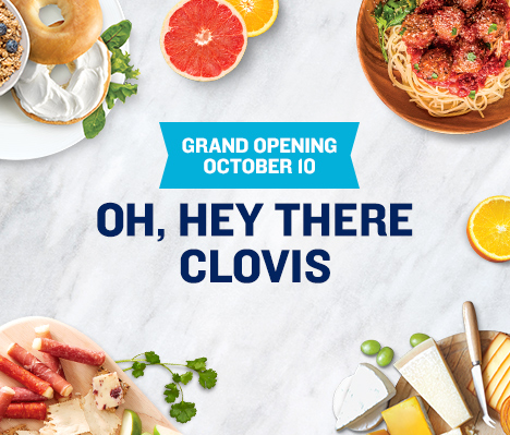 Grand Opening October 10. Oh, hey there Clovis.