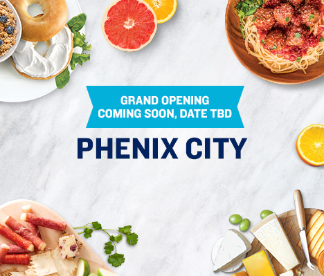 Grand Opening Coming Soon, Date TBD. Phenix City.