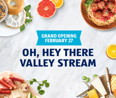 Grand opening February 27. Oh, hey there Valley Stream.