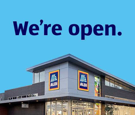 We're open.