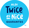 ALDI Twice As Nice Logo