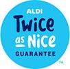 ALDI Twice As Nice Logo
