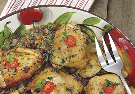 Homepage Recipes Main Poultry Chicken a La Bonne Femme