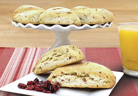 Orange Cranberry Scones Aldi Us