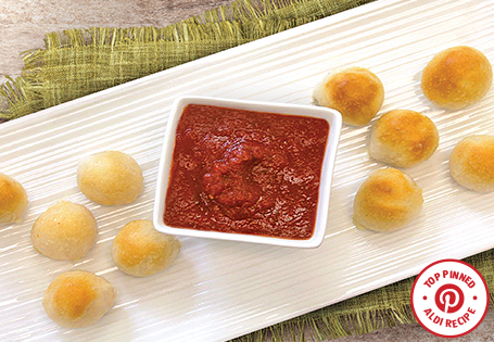 Cheesy Garlic Bread Poppers