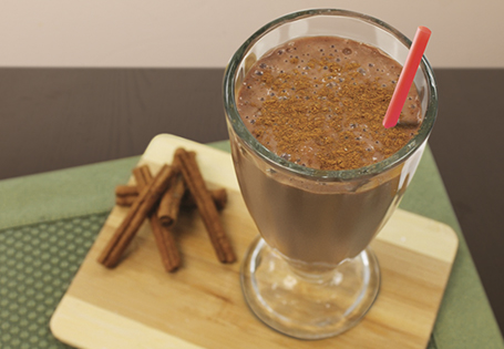 Chocolate Cinnamon Pudding Shake