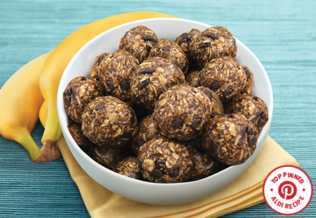 No Bake Coffee Banana Energy Bites