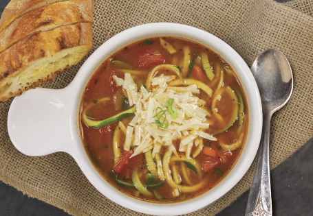 One Pot Zoodle Soup