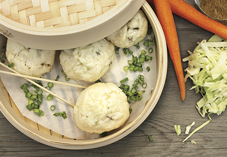 Pork & Vegetable Bao