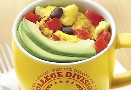Southwestern Coffee Cup Omelette