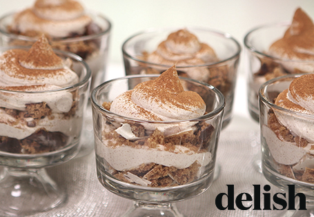 Gingerbread Mini Trifles