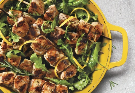 Grilled Herb Chicken Skewers