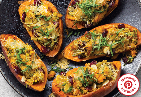 Super Stuffed Sweet Potatoes