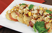 2014 Warm Dijon Bacon Potato Salad Recipe Hero O
