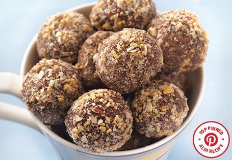 ALDI US - Chocolate Toffee Ice Cream Truffles
