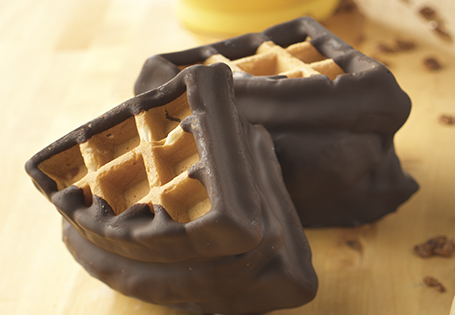 Cinnamon Belgian Waffle Ice Cream Sandwich