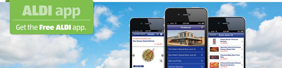Get the Free ALDI app.