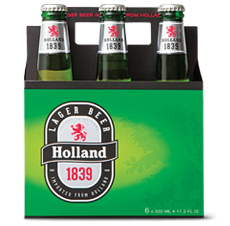 Holland Lager 1839. The November Beer of the Month.