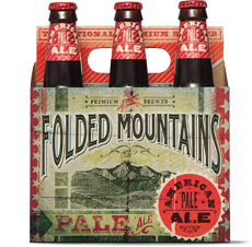 March Beer of the Month: Folded Mountains Pale Ale.