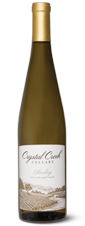 Crystal Creek Cellars Riesling. The November White Wine of the Month.