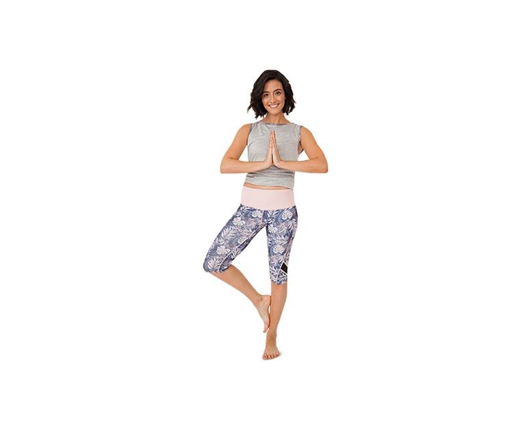 ca9af74caaae0 Crane Ladies Three Quarter Legging or Capri Yoga Pant | ALDI US