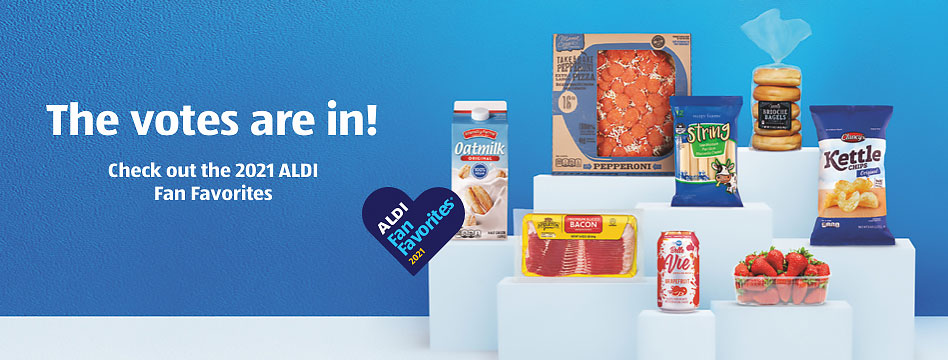 The votes are in! Check out the 2021 ALDI Fan Favorites