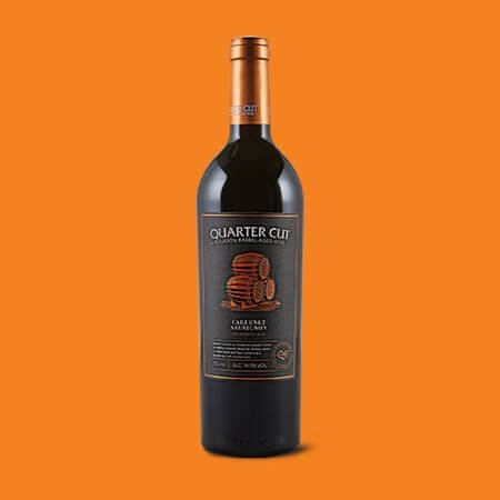 Quarter Cut Bourbon Barrel Red Blend