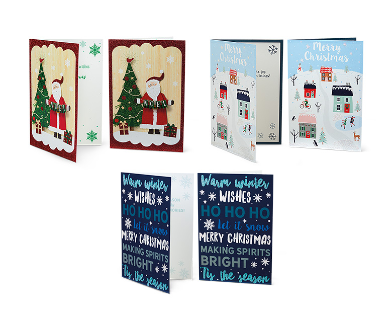 ALDI US - Merry Moments 24 Premium Christmas Cards