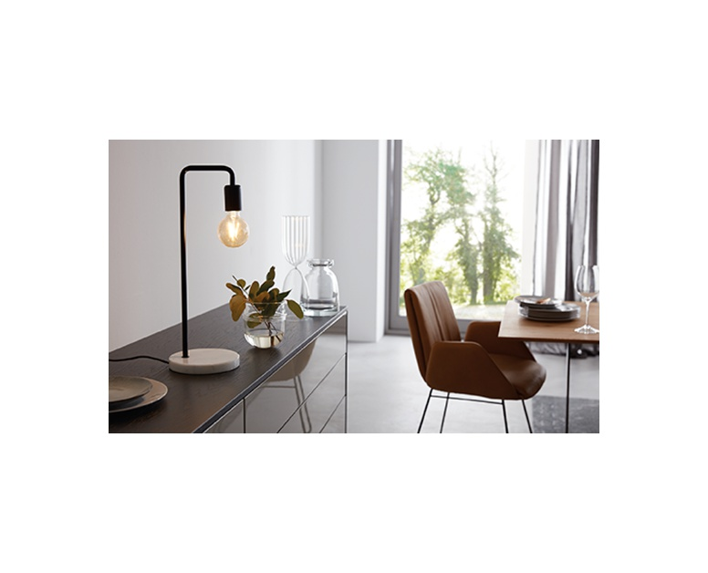 Easy Home Vintage Style Table Lamp Aldi Us
