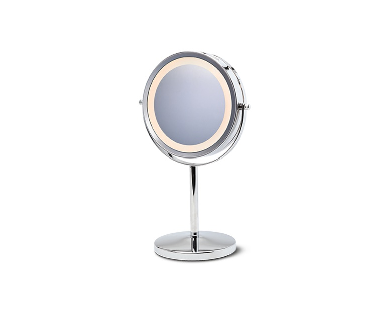 Visage Double Sided Lighted Makeup Mirror Aldi Us