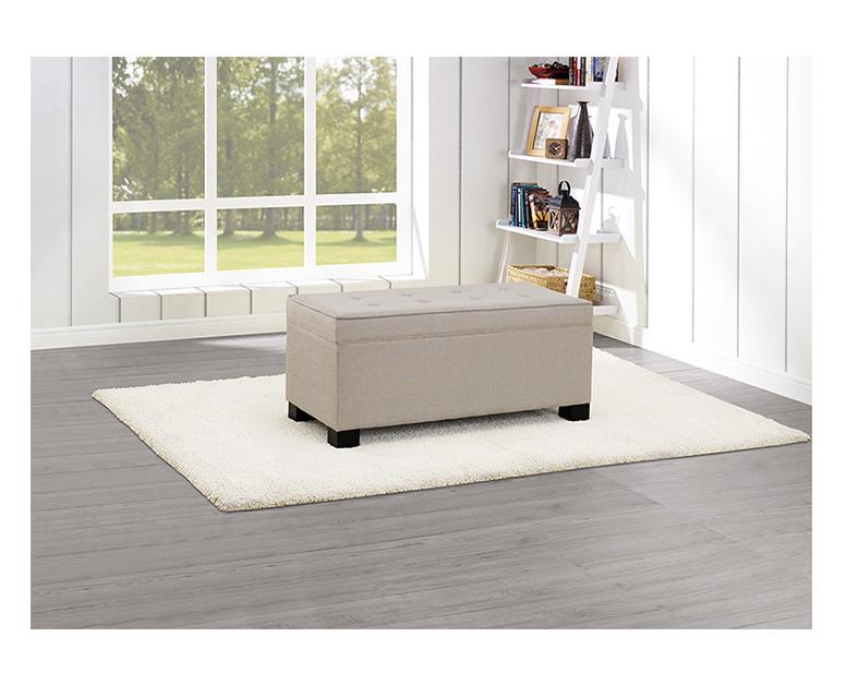 Sohl Furniture Tufted Storage Chest Aldi Us