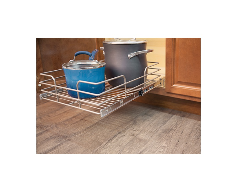 Easy Home Slide Out Cabinet Basket | ALDI US
