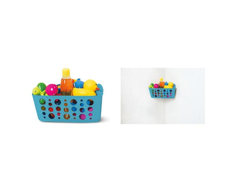 Easy Home Plastic Suction Bath Basket Assortment | ALDI US